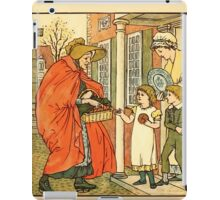 Walter Crane's Painting Book 1889 28 - Hot Cross Buns Color iPad Case/Skin