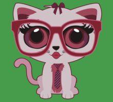 Kitten Nerd Kids Clothes