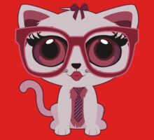 Kitten Nerd Kids Clothes