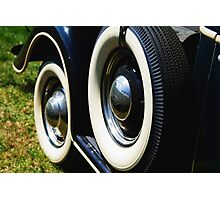 Two tires Photographic Print