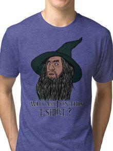 Confused Gandalf Tri-blend T-Shirt