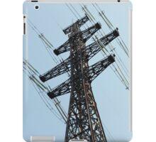 high voltage power line iPad Case/Skin
