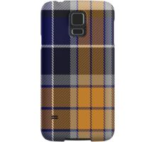 00346 Monaghan County, Crest Range District Tartan Samsung Galaxy Case/Skin