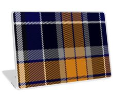 00346 Monaghan County, Crest Range District Tartan Laptop Skin