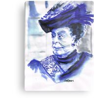 Lady Violet the Dowager Metal Print
