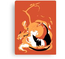Charizard Double Canvas Print