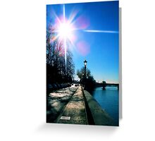 Land[e]scapes - Now is the Winter of our discontent made glorious Summer by this Sun of... Verona Greeting Card