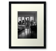 mark Framed Print