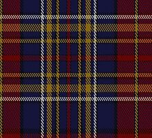 00345 Westmeath County, Crest Range District Tartan  by Detnecs2013