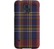 00345 Westmeath County, Crest Range District Tartan  Samsung Galaxy Case/Skin