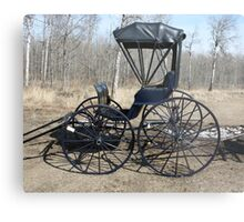 The Doctor's Buggy Metal Print