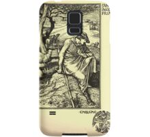 The shepheard's calender twelve aeglogues proportionable to the twelve monethes Newly adorned with twelve pictures and other devices by Walter Crane 1898 31 - January Samsung Galaxy Case/Skin