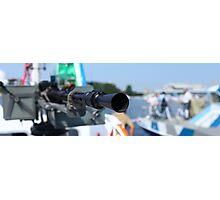 barrel heavy machine gun  Photographic Print