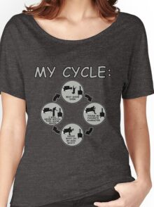 My Cycle  Women's Relaxed Fit T-Shirt