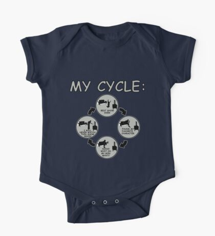 My Cycle  One Piece - Short Sleeve