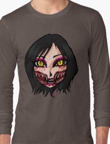 Mortal Kombat x  - Chibi Mileena Face Long Sleeve T-Shirt