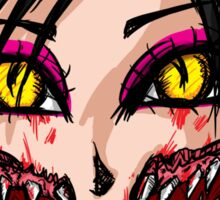 Mortal Kombat x  - Chibi Mileena Face Sticker