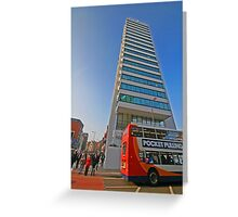 111 PICCADILLY Greeting Card