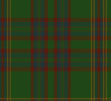 00344 Westmeath District Tartan  Sticker