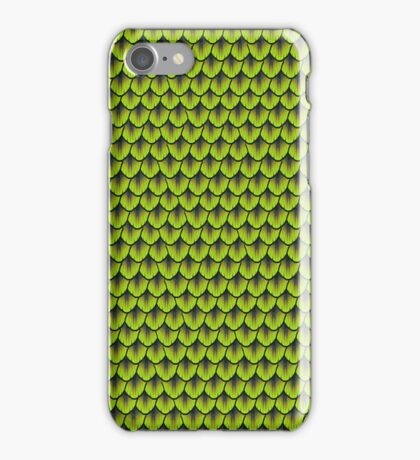 Buzzing Yellow Mermaid Scale iPhone Case/Skin