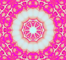 Hot Pink Mandala by wutz4tea