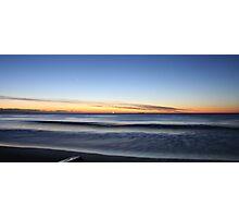 Sunrise Blue Photographic Print