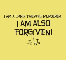 I am FORGIVEN by J.W. Vineyard