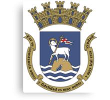 San Juan Coat Of Arms  Canvas Print