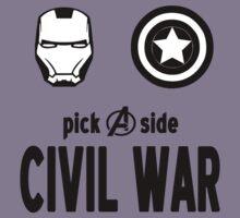 Exclusive MARVEL Civil War Merchandise Kids Clothes