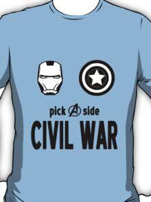 Exclusive MARVEL Civil War Merchandise T-Shirt