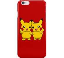Mr. & Mrs. Pikachu iPhone Case/Skin