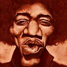 Hendrix by JRGibson