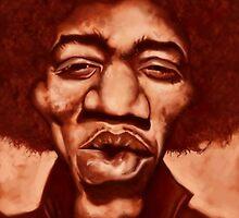 Hendrix by JRGibson