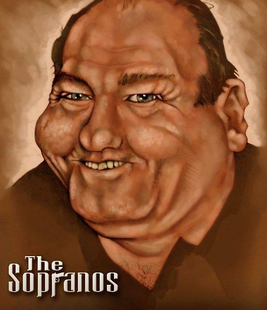 Tony Soprano by JRGibson