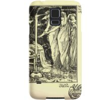 The shepheard's calender twelve aeglogues proportionable to the twelve monethes Newly adorned with twelve pictures and other devices by Walter Crane 1898 119 - November Samsung Galaxy Case/Skin