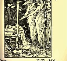 The shepheard's calender twelve aeglogues proportionable to the twelve monethes Newly adorned with twelve pictures and other devices by Walter Crane 1898 119 - November by wetdryvac