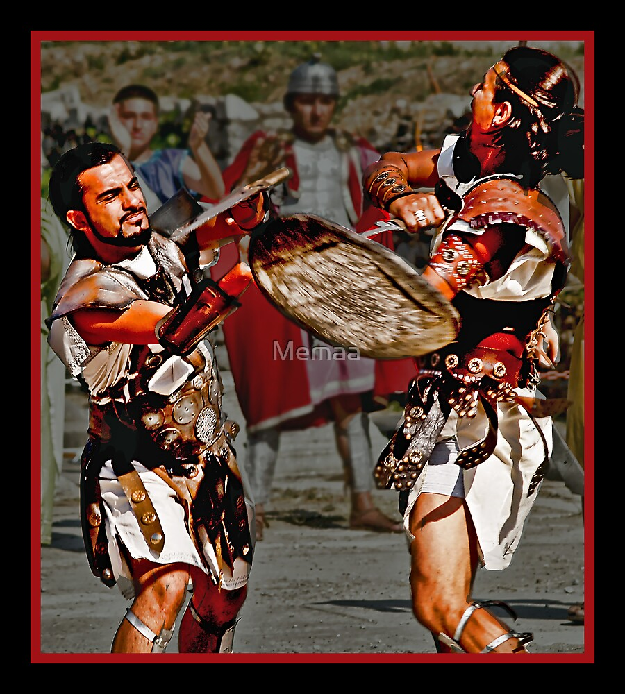 Roman Gladiators by Memaa