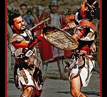 Roman Gladiators by Memaa