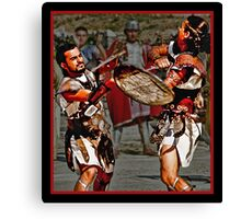 Roman Gladiators Canvas Print