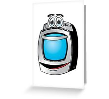 Stainless Steel Stove Cartoon Greeting Card