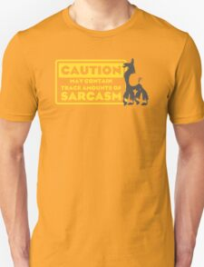Llama Kuzco - May Contain Trace Amounts of Sarcasm T-Shirt