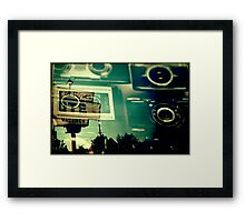Camera Vacancy Framed Print