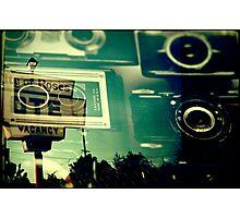 Camera Vacancy Photographic Print