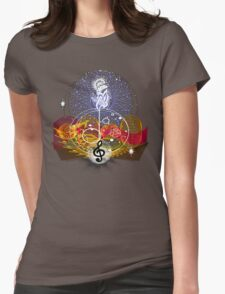 Music heals Womens Fitted T-Shirt
