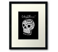 Urban Phenom™ - Skull Black Edition Framed Print
