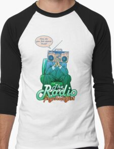 the Radio psychologist (GREEN) Men's Baseball ¾ T-Shirt