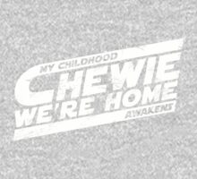 Chewie We're Home V03 Distressed White Kids Clothes