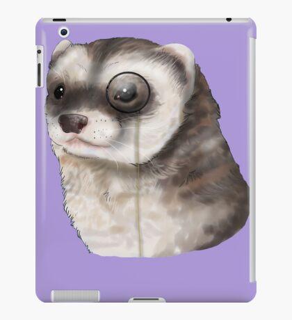 Ferret Monocle  iPad Case/Skin