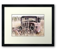 Here I Rest Framed Print