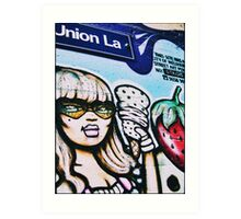 Union Lane, Melbourne 2009 Art Print